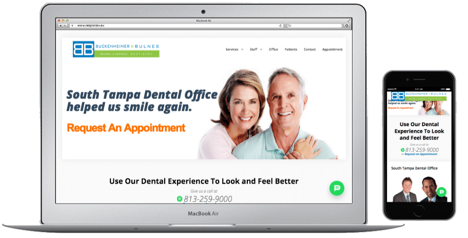 Websites-South Tampa Dental Office