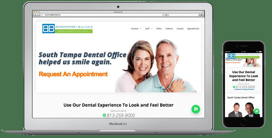 Websites-South Tampa Dental Office