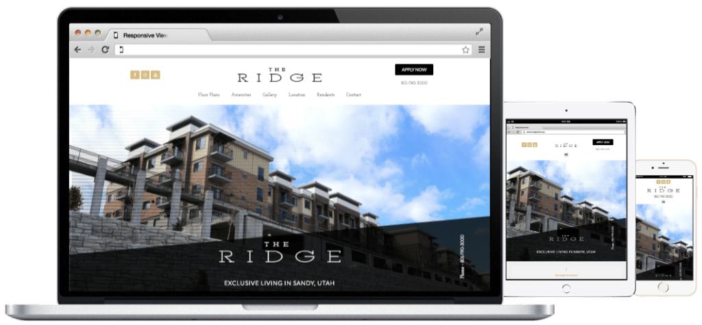 Websites-The Ridge Apartments