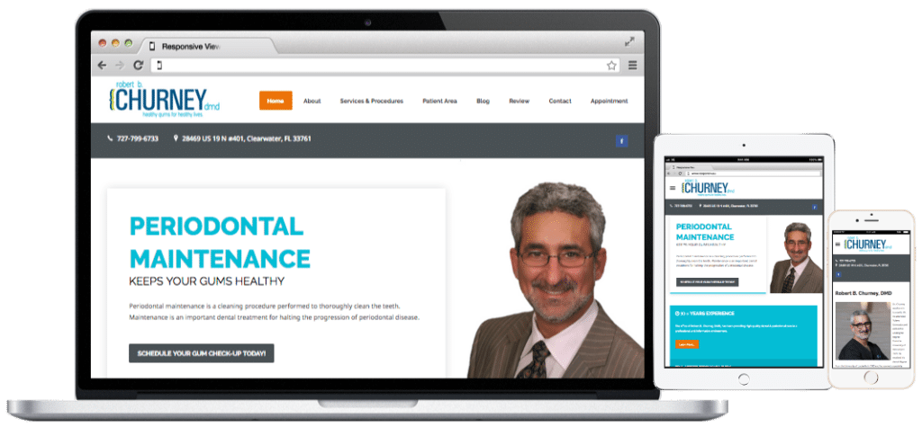 Websites-Churney Periodontist