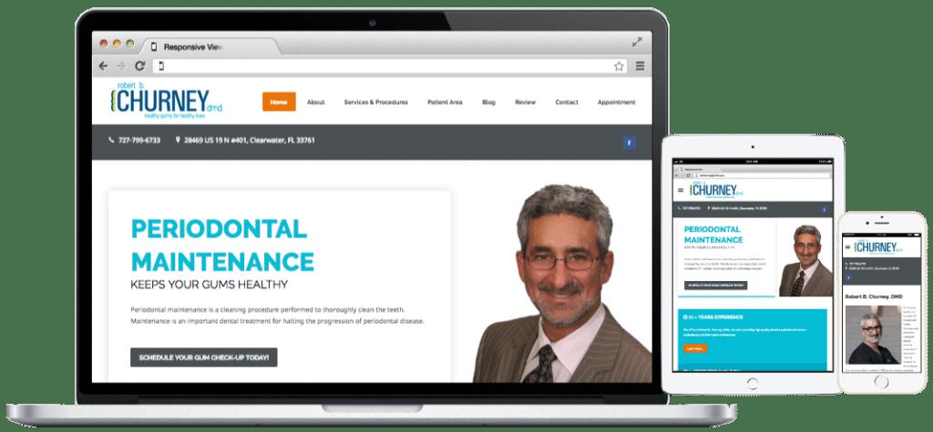 Websites-Churney Periodontist