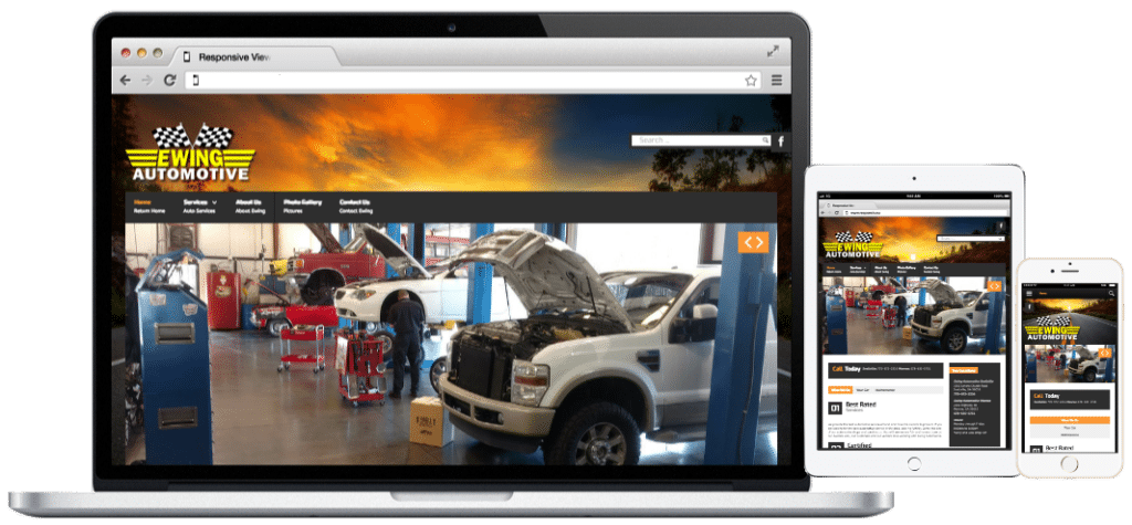 Websites-Ewing Automotive