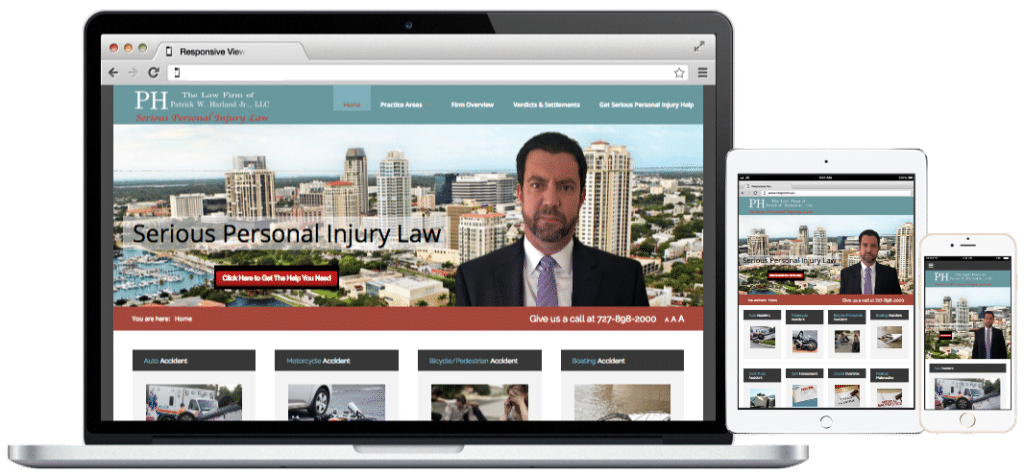 Websites-The Law Firm of Patrick W. Harland