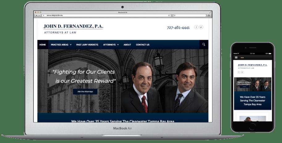 Websites-John D Fernandez