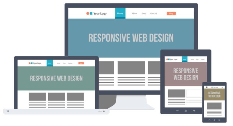 Responsive Web Design by PagesOnly.com